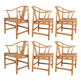 Six Chinese Chairs by Hans Wegner for PP Mobler
