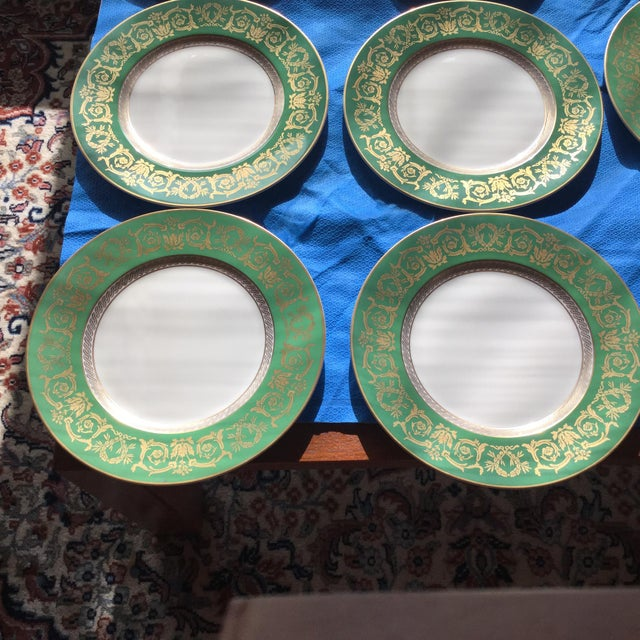 Traditional Krautheim Selb Bavaria Fine China - Set of 9 For Sale - Image 3 of 9