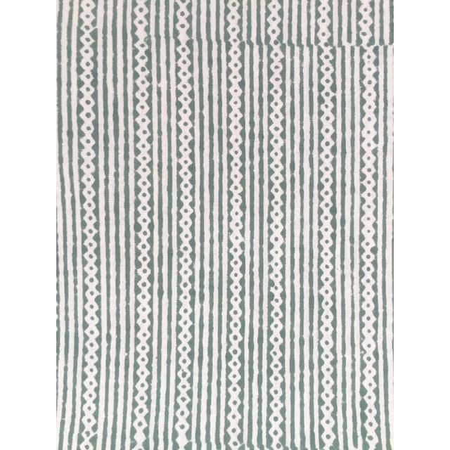 European Handmade Block Print Tablecloth - Image 5 of 7