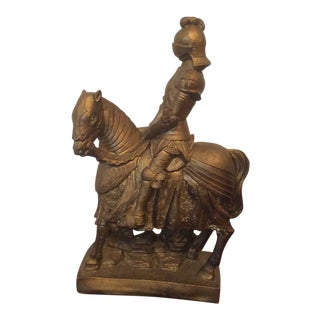 Vintage Medieval Knight Figure For Sale