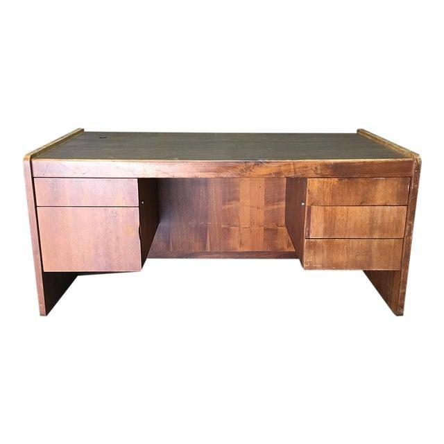 Vintage Modern Executive Desk - Image 1 of 10