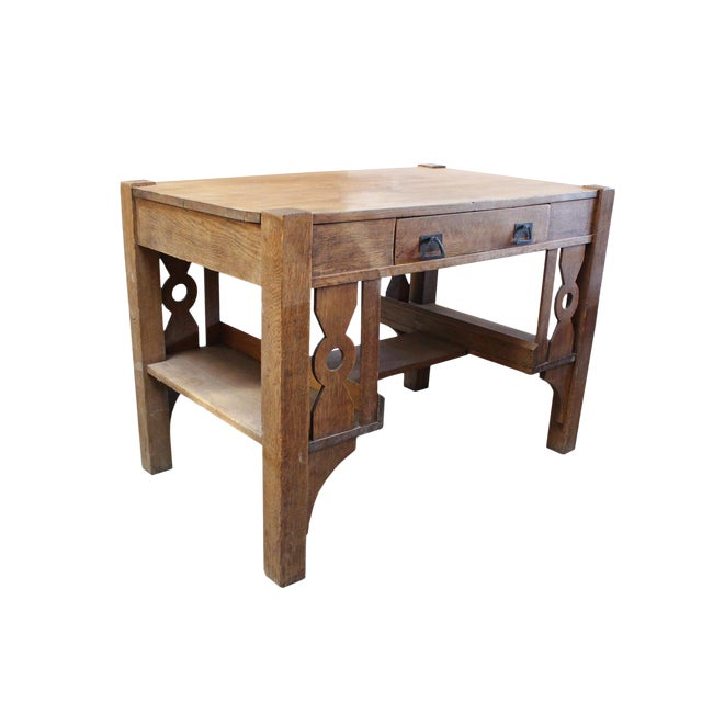 Gorgeous Mission Writing Desk - Image 1 of 4