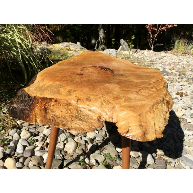 Maple Live Edge Cocktail Table - Image 6 of 6