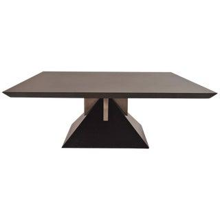 Rare Custom Design Granite Pyramid Table by Stanley J. Friedman for Brueton For Sale