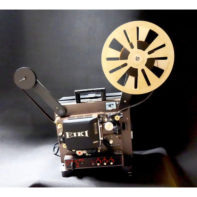Offered for your consideration is this mid 20th century 16mm cinema projector by the famous manufacturer, Eiki. This item...