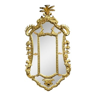 Venetian Giltwood Girondole Mirror For Sale