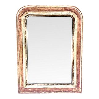 19th Century Painted Louis-Philippe Mirror For Sale