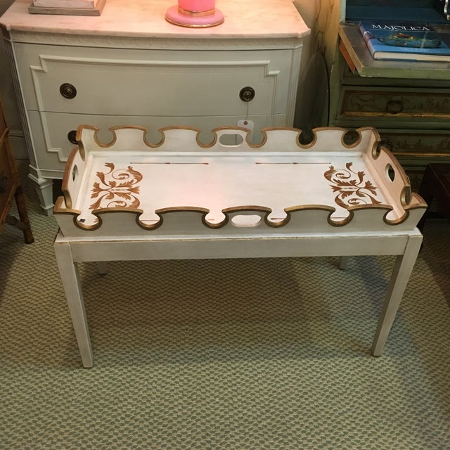 Amy Howard Painted Coffee Table - Image 2 of 4