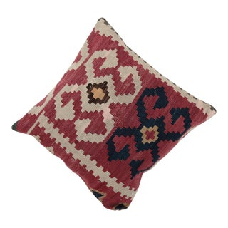 Vintage Flower Kilim Pillow