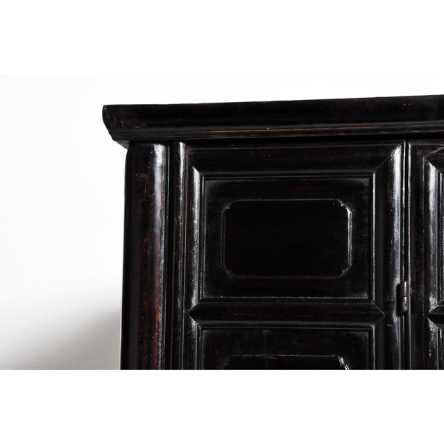 Qing Dynasty Chinese Clothing Cabinet With Four Drawers For Sale - Image 12 of 13