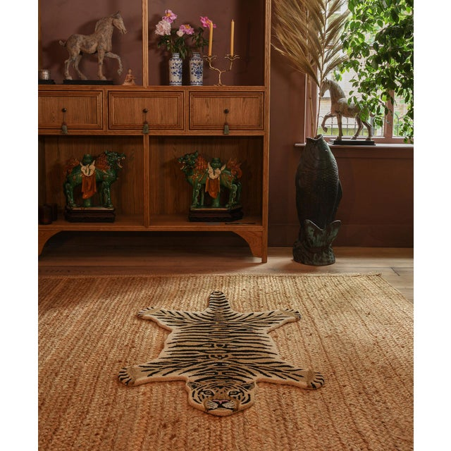 Not Yet Made - Made To Order Doing Goods Drowsy Tiger Rug Large For Sale - Image 5 of 6