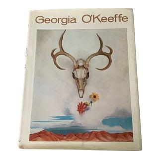 1970s Georgia O'Keeffe Coffee Table Book For Sale
