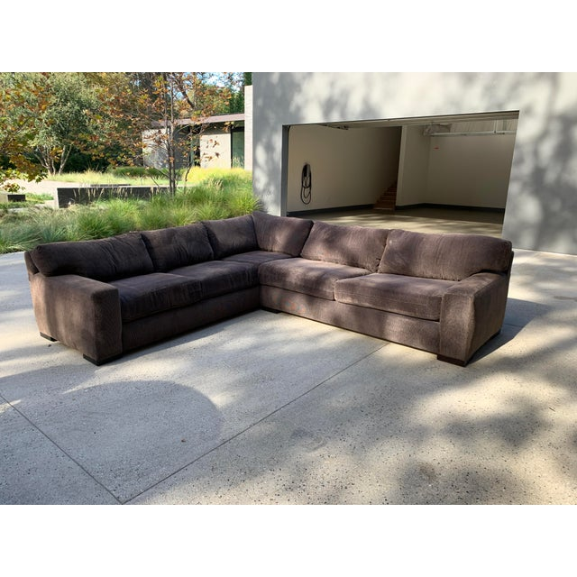 Designer Deep Down Blend Sectional Sofa For Sale - Image 9 of 12