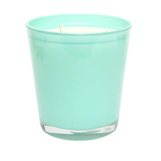 Large Moroccan Green Tea-Scented Candle in Mint For Sale