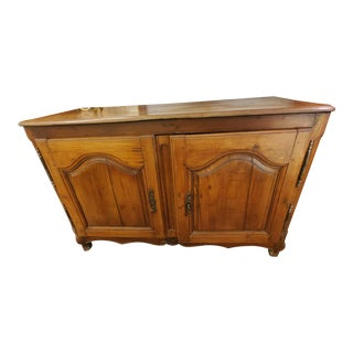 French Walnut Cupboard With Original Hardware For Sale
