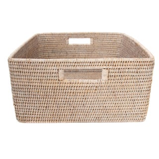 Artifacts Rattan Square Storage Basket Preview