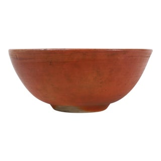 19th Century Iron Glaze Charger Bowl For Sale