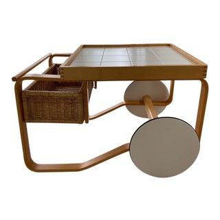 Artek Alvar Aalto 900 - Tea Cart White For Sale