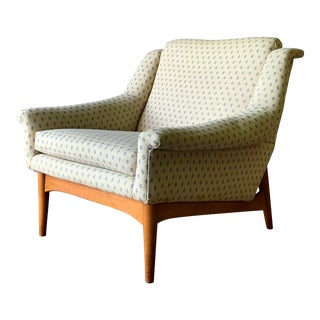 Mid Century Modern Armchair / Lounge Chair, Made in Norway For Sale