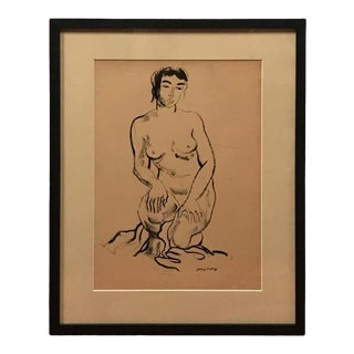 Jerry O' Day Nude Drawing For Sale