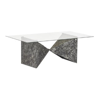 Adrian Pearsall Bow-Tie Textured Cocktail Table, Circa 1970