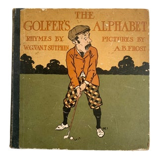 1898 The Golfer's Alphabet by A. B. Frost, For Sale