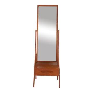 Arne Vodder Teak Dressing Mirror