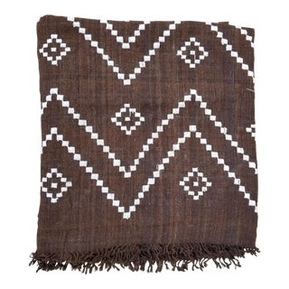 Hand Woven Wool Bed Cover For Sale