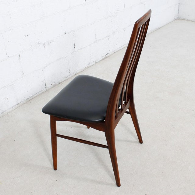 Koefoed Hornslet Rosewood Dining Chairs - Set of 10 - Image 6 of 8