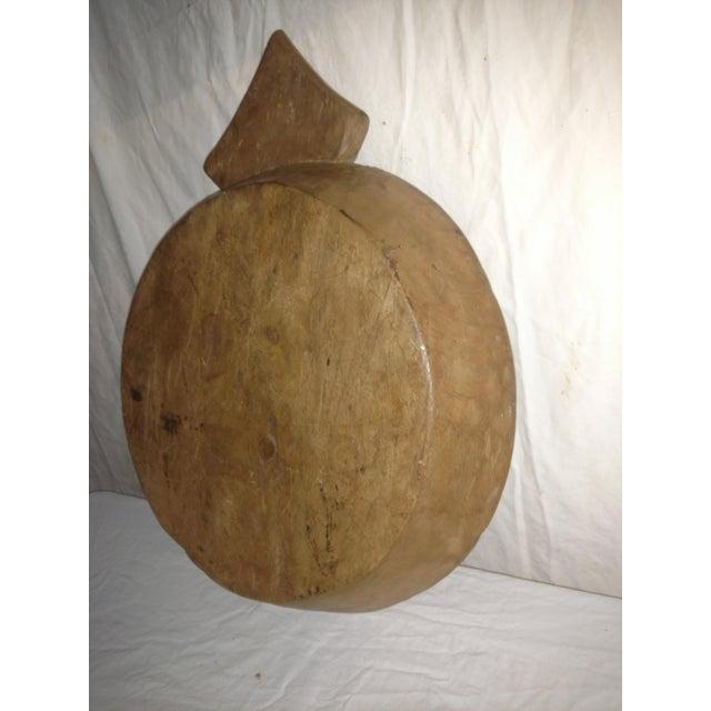 Teak Large 18th Century Ceylonese Teak Arrow Ceremonial Bowl For Sale - Image 7 of 8