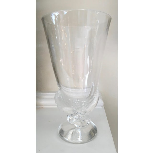 Vintage Signed Steuben Crystal Vase By George Thompson Chairish