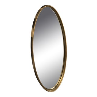 Labarge Mid-Century Modern Oval Mirror For Sale