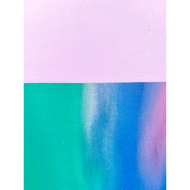 Contemporary Abstract Color Field Large Scale Original Painting by Artist Jonathan Marquis For Sale In Portland, OR - Image 6 of 10