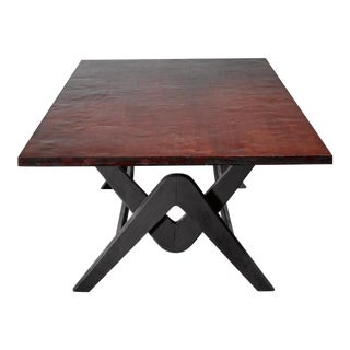Pierre Jeanneret Chandigarh Conference Table, Circa 1963 For Sale