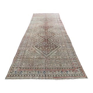 Antique Persian Malayer Rug - 6′1″ × 15′12″ For Sale