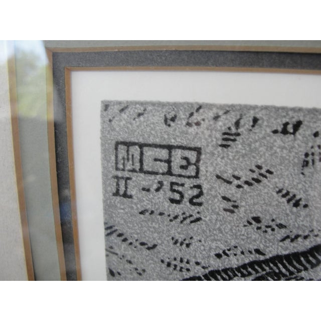 Vintage 'Puddle' Print by M.C. Escher For Sale - Image 5 of 8