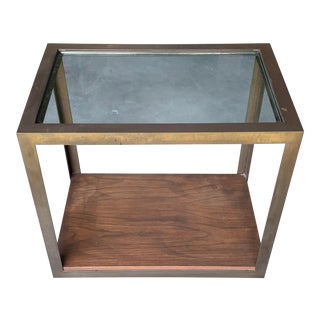 Brass Harry Lunstead Side Table For Sale
