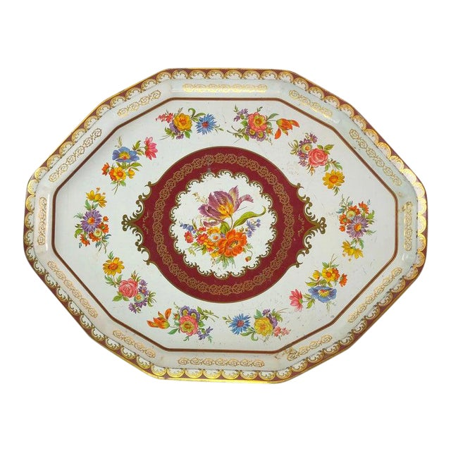 Vintage Daher Tin Tray For Sale