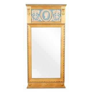 1900s Gustavian Style Giltwood Mirror