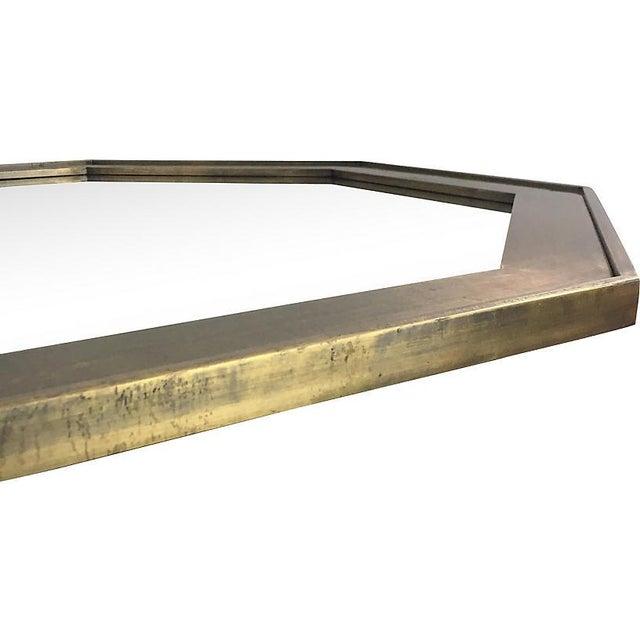 Mid-Century Modern John Widdicomb Bronze Mirror For Sale - Image 3 of 6