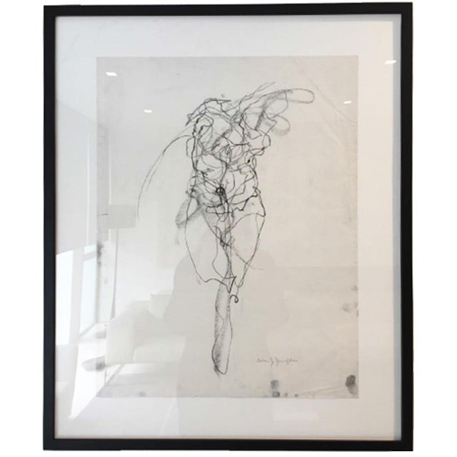 "Abstract ""Bodies in Motion"" Dancer 1 by Gina Jacupke For Sale - Image 3 of 3"