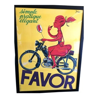 Extra Large Favor Framed Poster