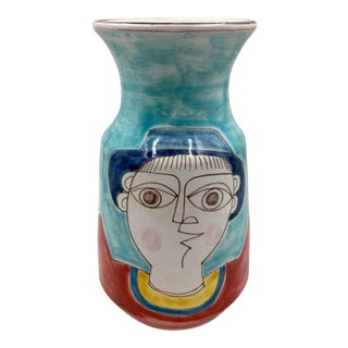 DeSimone Mid Century Vase For Sale