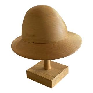 Roberto Bini Vintage Florentine Millinery Hat Block For Sale
