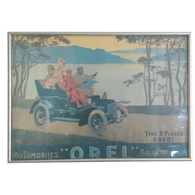 Vintage French Advertisement Poster - Image 1 of 6