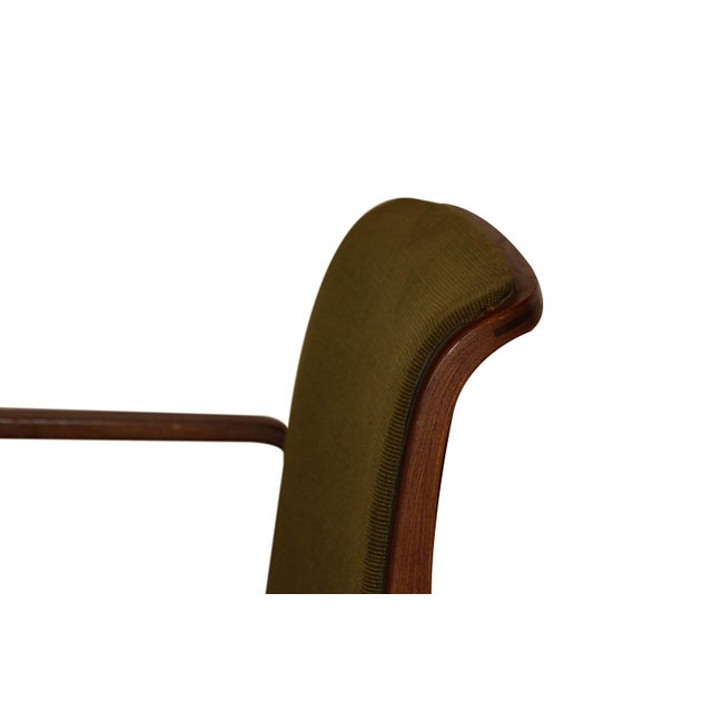 Wood Mid Century Bill Stephens Knoll Bentwood Chair For Sale - Image 7 of 11
