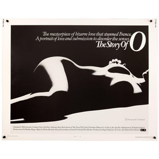 "Vintage Original 1975 ""The Story of O"" Film Poster For Sale"