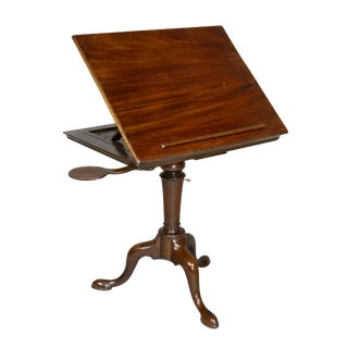 George III Mahogany Reading Stand For Sale