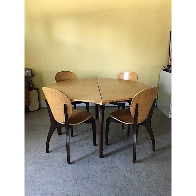 Sculptural Italian Dining Set - Image 2 of 8