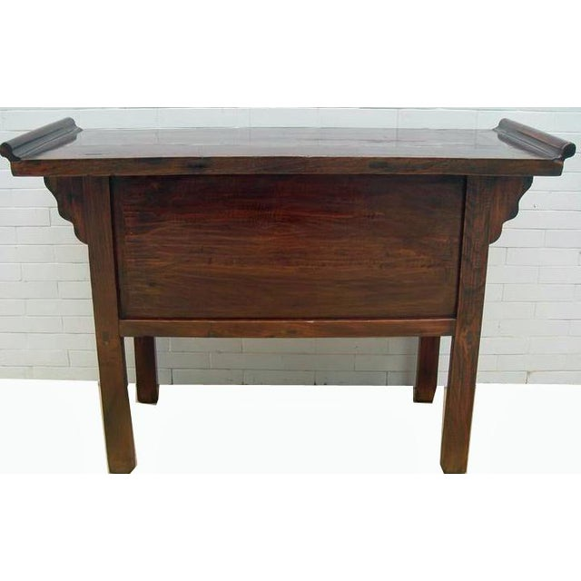 Five-Drawer Console Table For Sale - Image 10 of 11